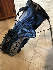 PING Golf Stand bag Blue And Silver 4 Way Top