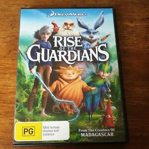 Rise of the Guardians DVD R4 Like New! FREE POST