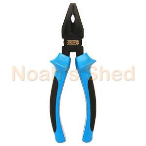 "BRAVO Tools Combination Pliers 160mm 6"" DIY Low Cost Hand Tools PVC Handle"