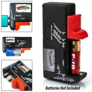 Battery Tester Tool Button Checker Accessory Low Power Universal Portable S4U2