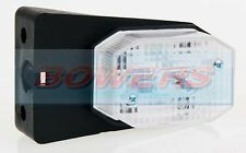 WHITE CLEAR FRONT MARKER LIGHT LAMP IFOR WILLIAMS BRIAN JAMES TRAILER AS ASPOCK