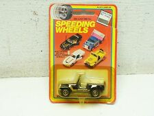 Speeding Wheels Die-Cast Woolworth Yatming CJ 7 Cj 5 Jeep Golden Hawk MOC 7000A