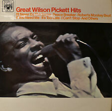 "WILSON PICKETT - GREAT WILSON PICKETT HITS 12"" LP (O823)"