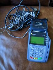 verifone vx510 credit card terminal complete and working