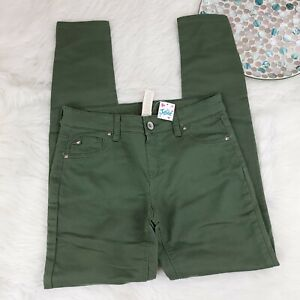 NWT Justice GIrls Jegging Skinny Jeans Size 16 Green Simply Low Super Stretch