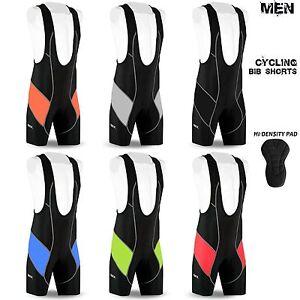 Mens Cycling Bib Shorts Hi-Density Padded MTB Bike Tights Legging All Sizes DBX