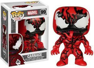 Marvel Carnage Pop Vinyl Figure Funko Rare Retired Vaulted DAMAGED OUTER BOX