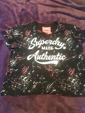 superdry tshirt ladies xl