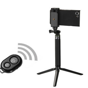 All in one Selfie Stick & Bluetooth Remote Shutter & Tripod Mount for iPhone X 8