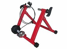 Red Magnet Steel Bike Bicycle Indoor Exercise Trainer Stand