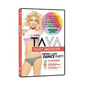 TRACY ANDERSON - Strong & Sexy Dance Party TAVA DVD NEW/SEALED