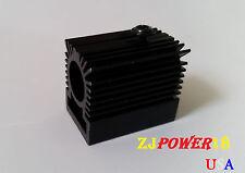 2PCS Cooling Heatsink/ Heat Sink for 12mm Laser Diode Module - BLACK
