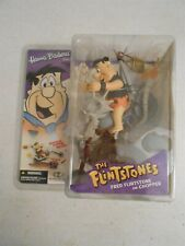 HANNA-BARBERA SERIES 1 - FRED FLINTSTONE on CHOPPER (McFarlane Toys)
