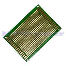 Drilled Single sided Copper Prototype PCB Matrix Epoxy Glass Fibre Board 70x90mm