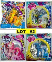 LOT OF 4 Original Hasbro My Little Pony from Egmont Magazine Figure LIMITED EDT