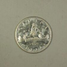 1959 Canada Silver Dollar Coin $1 BU Brilliant Uncirculated 80% Silver