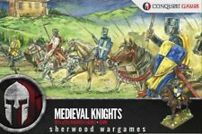 28mm Medieval Knights Conquest Games Plastics, Swordpoint, Medieval Saga