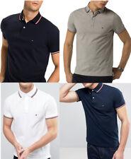 Tommy Hilfiger Poloshirt Herren twin Tipped Polo Hemd Kurzarm shirt