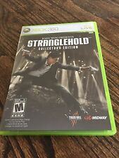 Stranglehold Collector's Edition Xbox 360 Cib Game XG3