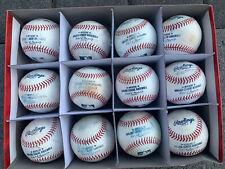 1 Dozen Official Rawlings Major League Baseball Practice Baseballs