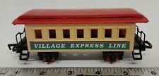 "New Bright Wintersville Express #174 Passenger Train Car Small Scale 6"" Complete"