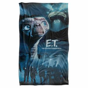 """Official E.T. TITLE Lightweight Super Soft Fleece Blanket 36"""" x 58"""""""