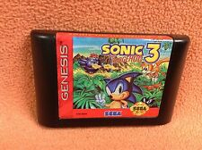 Sonic the Hedgehog 3 *Authentic* Sega Genesis Game *Cart Only* FREE SHIP!