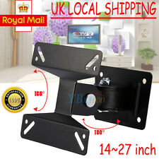 LCD LED Plasma TV Monitor Wall Mounted Swivel Bracket VESA 14-24inch Top Quality
