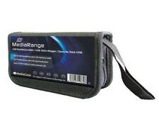 MediaRange Flashdrive Wallet for 5 SD Cards & 10 USB Sticks High quality nylon