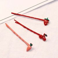 Lovely Strawberry Fruit Cherry Hair Clip Hairpins Barrette Fashion