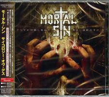 Mortal Sin-Psychology de Death-Japan 2 CD Pista Extra Limitada / Ed. G50