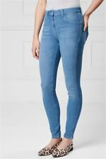 NEXT Blue 360 4 Way Stretch SKINNY Jeans Size 18 Long Sculpt Shaping
