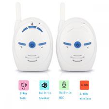 Audio Baby Monitor, 2.4Ghz Safe & Sound Digital Audio Baby Monitor Two-way Talk