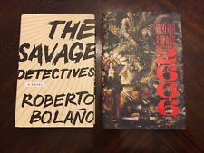 The Savage Detectives & 2666 By Roberto Bolano 1st 1st