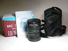 FishEye MC Zenitar-M 2.8/16mm for Sony NEX E-mount. Brand NEW. M42 + adapter