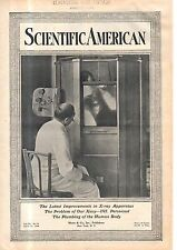 1914 Scientific American April 11 - Safe X-ray machine; Canada Telescope; guns