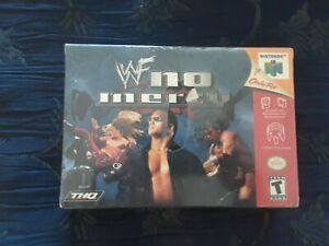 WWF No Fury Nintendo 64 Brand New FACTORY SEALED In Retail Box N64