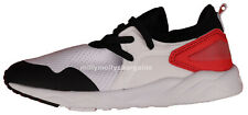 New Boys Red & Black & White NEXT Trainers Size 13 Kids RRP £22