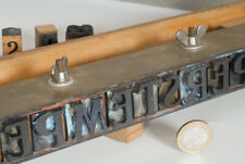 Large Dutch Industrial Stamp Set - 101 letters, numbers & punctuation marks