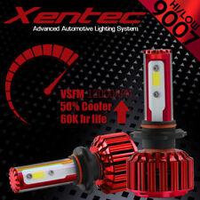 2pcs 9007 HB5 COB LED Headlight Bulbs High Low Dual Beam 100W 10000LM Light Lamp