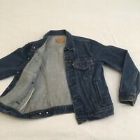 Size 40R- Levis Vintage 70506-0216 80s 90s Denim Jean Jacket Made In USA Trucker