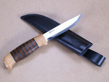 Helle Sigmund Anniversary Knife With Leather Sheath