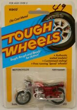 Vintage Kidco Tough Wheels Kawasaki 750 SS 750SS Red Motorcycle MOC 1/26 Scale
