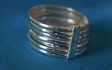 Sterling Silver SEMANARIO Ring Seven Bands SET .925 NEW