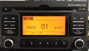 Kia Cd Radio Fully Tested 9600-1G872xl