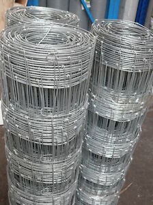 Stock fencing 100cm 50 meter roll galvanised 1 meter high cow sheep farm fence
