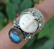 Labradorite Stone Sterling Silver Handcrafted Rings