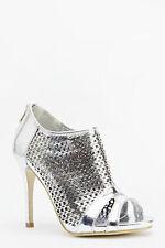 Peep Toes Standard Width (D) Wet look, Shiny Heels for Women
