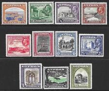 Cyprus 1934 Set to 45pi. (Mint)