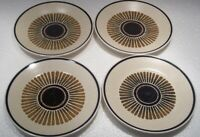 SET Of 4  LENOX PERCUSSION  TEMPER-WARE   Bread & Butter / Dessert Plates 6 1/2""